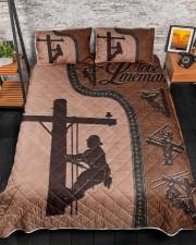 Lineman  Queen Quilt Bed Set aos-queen-quilt-bed-set-lifestyle-front-07