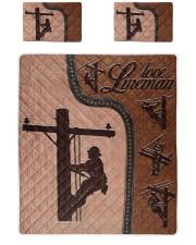 Lineman  Quilt Bed Set tile