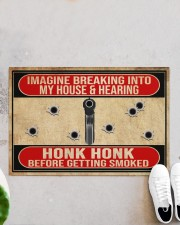 "2nd Amendment Imagine breaking into my house Doormat 34"" x 23"" aos-doormat-34-x-23-lifestyle-front-06"