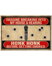 "2nd Amendment Imagine breaking into my house Doormat 34"" x 23"" front"