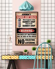 Barber shop rules 24x36 Poster lifestyle-poster-6