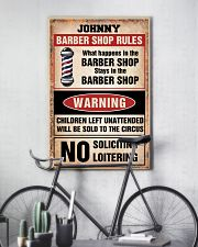 Barber shop rules 24x36 Poster lifestyle-poster-7