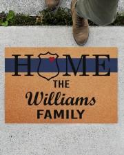 """Police Home Doormat 34"""" x 23"""" aos-doormat-34-x-23-lifestyle-front-01"""