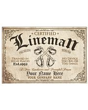 Lineman Problem Solver Train in high places 36x24 Poster front