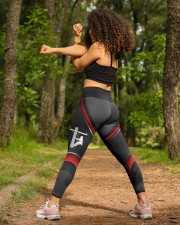 Lineman Love my lineman High Waist Leggings aos-high-waist-leggings-lifestyle-19