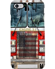 Personalized Firetruck with Your Custom Unit Phone Case i-phone-8-case