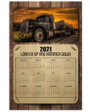 Trucker Load'er up and hammer down Vertical Poster tile