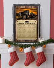 Trucker Load'er up and hammer down 24x36 Poster lifestyle-holiday-poster-4