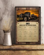 Trucker Load'er up and hammer down 24x36 Poster lifestyle-poster-3