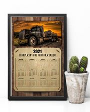 Trucker Load'er up and hammer down 24x36 Poster lifestyle-poster-8