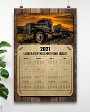 Trucker Load'er up and hammer down 24x36 Poster poster-portrait-24x36-lifestyle-19