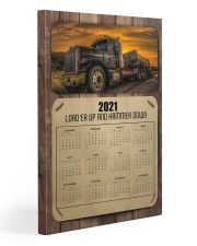 Trucker Load'er up and hammer down 20x30 Gallery Wrapped Canvas Prints thumbnail
