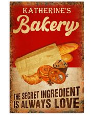 Baker The secret ingredient is always love Vertical Poster tile