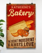 Baker The secret ingredient is always love 24x36 Poster aos-poster-portrait-24x36-lifestyle-19