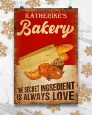 Baker The secret ingredient is always love 24x36 Poster aos-poster-portrait-24x36-lifestyle-23
