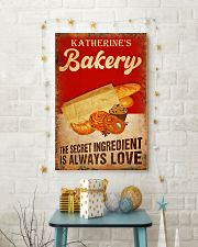 Baker The secret ingredient is always love 24x36 Poster lifestyle-holiday-poster-3