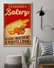 Baker The secret ingredient is always love 24x36 Poster lifestyle-poster-1
