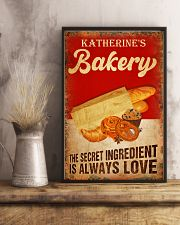 Baker The secret ingredient is always love 24x36 Poster lifestyle-poster-3