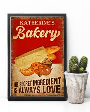 Baker The secret ingredient is always love 24x36 Poster lifestyle-poster-8