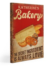 Baker The secret ingredient is always love 20x30 Gallery Wrapped Canvas Prints thumbnail