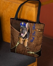 Police Back the blue UP All-over Tote aos-all-over-tote-lifestyle-front-02