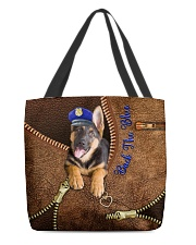 Police Back the blue UP All-over Tote front