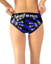 Police Taken by my police Women's Briefs aos-womens-aos-briefs-lifestyle-back-17