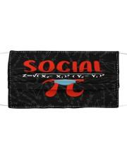 Teach317 Social Cloth face mask front