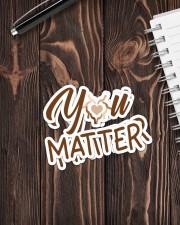 Teacher You matter  Sticker - 2 pack (Vertical) aos-sticker-2-pack-vertical-lifestyle-front-05