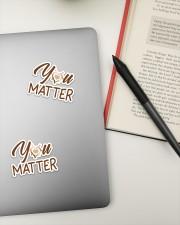 Teacher You matter  Sticker - 2 pack (Vertical) aos-sticker-2-pack-vertical-lifestyle-front-19