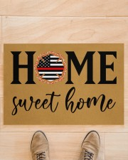 "Firefighter Home Doormat 34"" x 23"" aos-doormat-34-x-23-lifestyle-front-02"