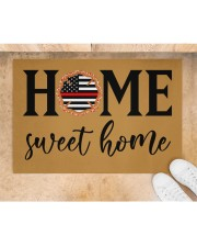 "Firefighter Home Doormat 34"" x 23"" aos-doormat-34-x-23-lifestyle-front-05"