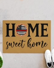 "Firefighter Home Doormat 34"" x 23"" aos-doormat-34-x-23-lifestyle-front-06"