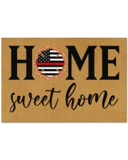 "Firefighter Home Doormat 34"" x 23"" front"
