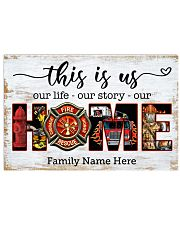 Firefighter This is us 36x24 Poster front