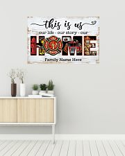 Firefighter This is us 36x24 Poster poster-landscape-36x24-lifestyle-01