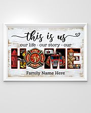Firefighter This is us 36x24 Poster poster-landscape-36x24-lifestyle-02