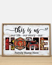 Firefighter This is us 36x24 Poster poster-landscape-36x24-lifestyle-03