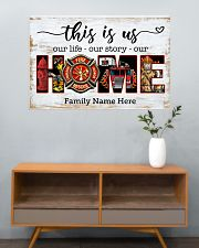 Firefighter This is us 36x24 Poster poster-landscape-36x24-lifestyle-21
