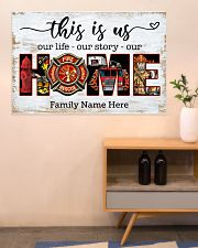 Firefighter This is us 36x24 Poster poster-landscape-36x24-lifestyle-22