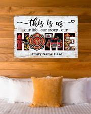 Firefighter This is us 36x24 Poster poster-landscape-36x24-lifestyle-23