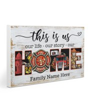 Firefighter This is us 30x20 Gallery Wrapped Canvas Prints thumbnail