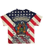 Firefighter  All-over T-Shirt back