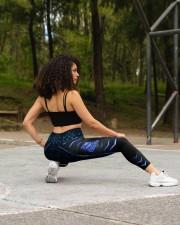Police Back the blue leggings High Waist Leggings aos-high-waist-leggings-lifestyle-13