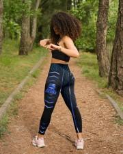 Police Back the blue leggings High Waist Leggings aos-high-waist-leggings-lifestyle-17