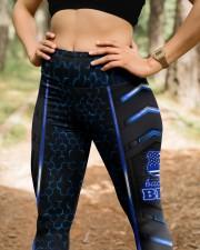 Police Back the blue leggings High Waist Leggings aos-high-waist-leggings-lifestyle-22