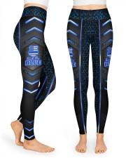 Police Back the blue leggings High Waist Leggings front