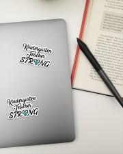 Strong048 Kindergarten Sticker - 2 pack (Vertical) aos-sticker-2-pack-vertical-lifestyle-front-19