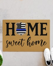 "Police Home sweet home Doormat 34"" x 23"" aos-doormat-34-x-23-lifestyle-front-06"
