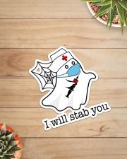 Nurse I will stab you Sticker - Single (Vertical) aos-sticker-single-vertical-lifestyle-front-07
